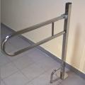 поручень для инвалидов откидной из нержавеющей стали
